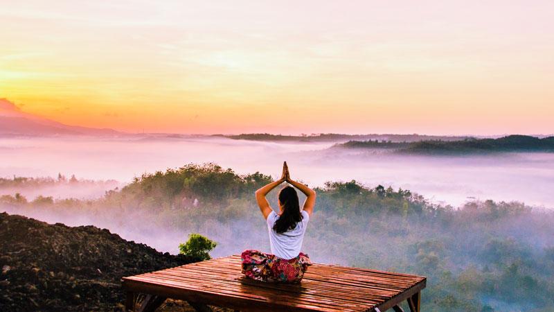 #7 innere Unruhe lösen in schöner Natur